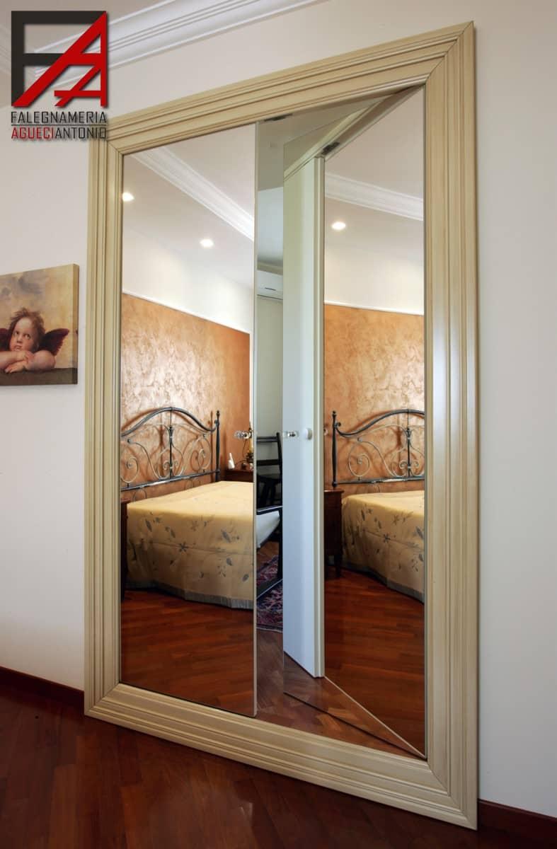 Falegnameria Agueci Antonio - porta a due ante a specchio con ...